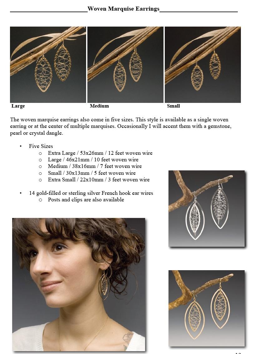 Woven Marq Earrings web