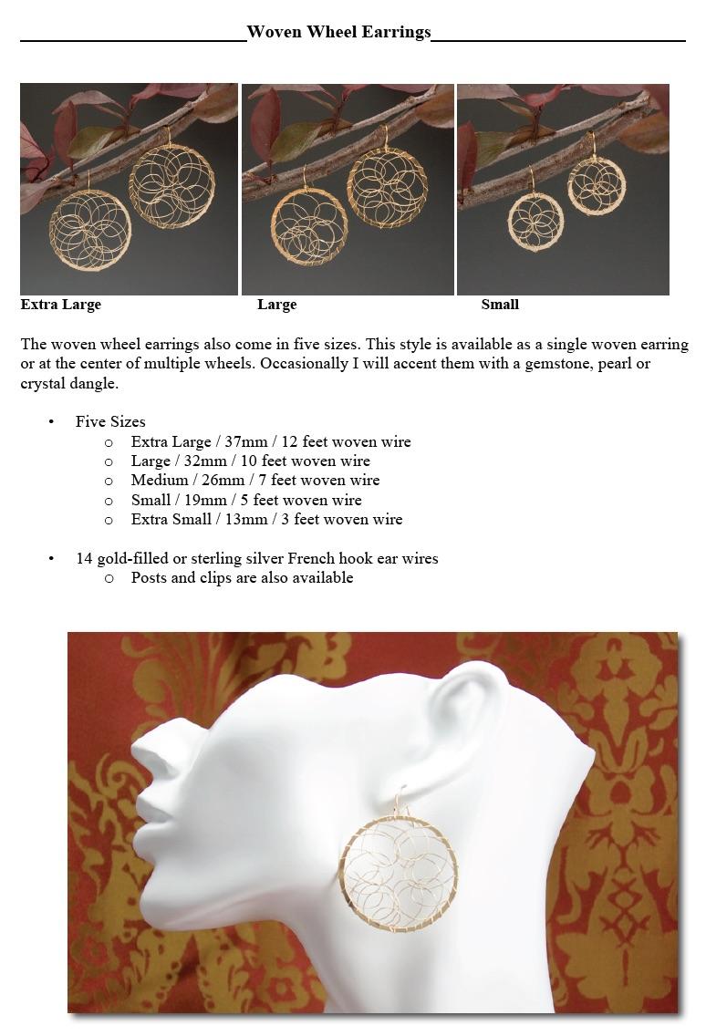 Woven Wheel Earrings web